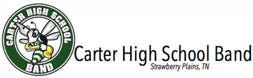 Carter High School Band Logo